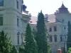 Západní průčelí zámku Jezeří