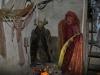 Expozice strašidel v zámeckém sklepení