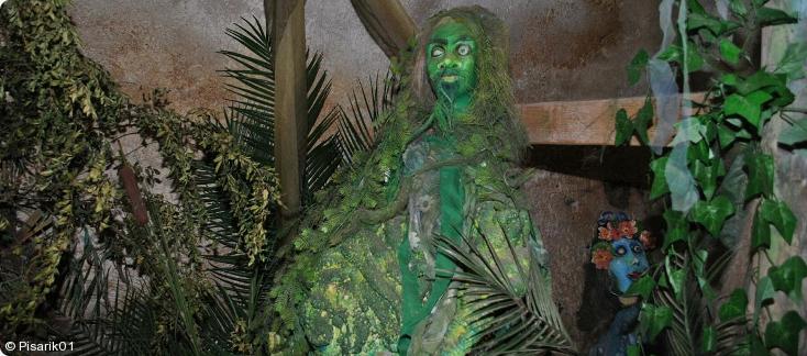strašidla na Jezeří