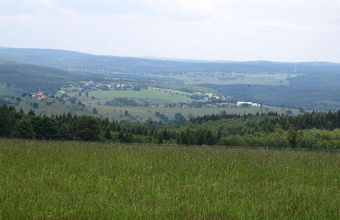 Pohled na Novou Ves